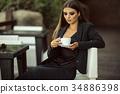 女企业家 女性白领 女商人 34886398