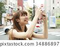 여행, 여성, 여자 34886897