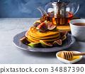 煎餅 堆 南瓜 34887390