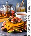 煎餅 堆 南瓜 34887391