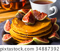 煎餅 堆 南瓜 34887392
