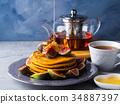 煎餅 堆 南瓜 34887397