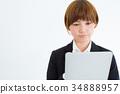 female, lady, woman 34888957