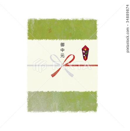 年中礼物 仪式折纸 夏天 34889874