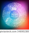 向量 向量圖 抽象 34890288