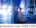 ballet, illumination, backstage concept. in the 34891309