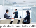 ประชุม,นักธุรกิจ,ธุรกิจ 34895589
