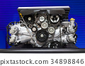 Subaru Boxer Engine 2.0 Litre on Display 34898846