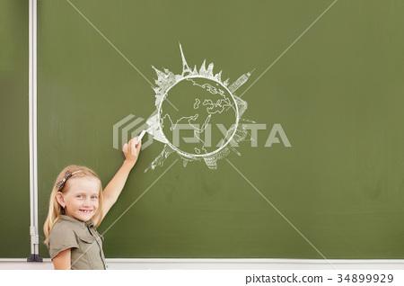 Lesson at school 34899929
