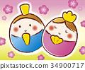 女孩的节日 女儿节 女孩节 34900717