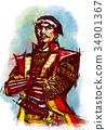 전국무장, 장군, 장수 34901367