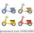 自行車 腳踏車 胡蜂屬 34901684