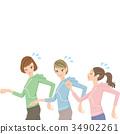 วิ่ง,ผู้หญิง,หญิง 34902261