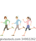 วิ่ง,ผู้หญิง,หญิง 34902262