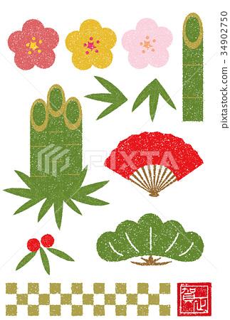 ปีใหม่,ประเทศญี่ปุ่น,สไตล์ญี่ปุ่น 34902750