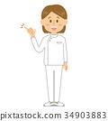 간호사, 여성, 여자 34903883