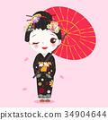 亞洲 東方 美女 34904644