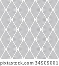 Seamless diamonds pattern. Lines texture. 34909001