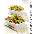 Broad bean salad 34910471