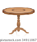 Side Table Antique Wooden Furniture 34911067