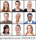 people, women, men 34916235