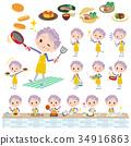 연장자, 요리, 조리 34916863