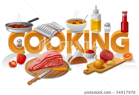 cooking food illustration 34917976