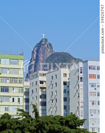 Corcovado Mountain in Rio 34920747