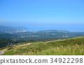 伊东市 大村山 山峰 34922298