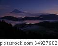 후지산 운해 밤하늘 요시하라 34927902