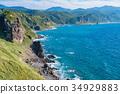 自然景色 藍天 神威岬 34929883