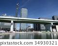 nagoycity, cityscape, blue sky 34930321