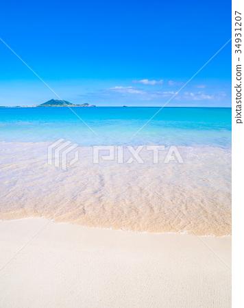 Kailua Beach Park Hawaii Stock Photo 34931207 Pixta