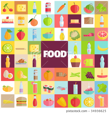 Tasty Food, Grocery Products and Refreshing Drinks 34936625
