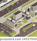 建築 城市 等大的 34937049