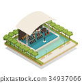 Orchestra Isometric Composition 34937066