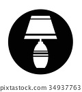 household lamp icon 34937763