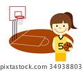 농구 여자 34938803