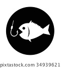 Fishing icon 34939621