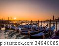 venice, sunrise, san marco 34940085