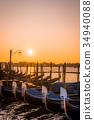venice, sunrise, san marco 34940088