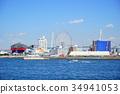 kaiyukan, blue water, marine 34941053