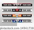 Scoreboard Digital Screeen Graphic Template 34941738