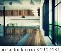 interior, interiors, cafeteria 34942431