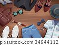 Men Accessories Illustration Background 34944112