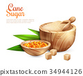 Cane Sugar Pail Background 34944126