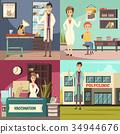 图标 概念 疫苗 34944676