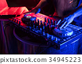 DJ is rhythm music with Controller and mixer. 34945223