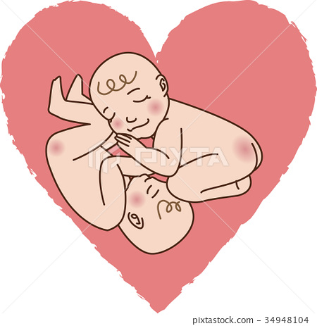 Twins sleeping baby 1 34948104
