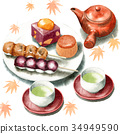 和果子 日本糖果 日式甜點 34949590